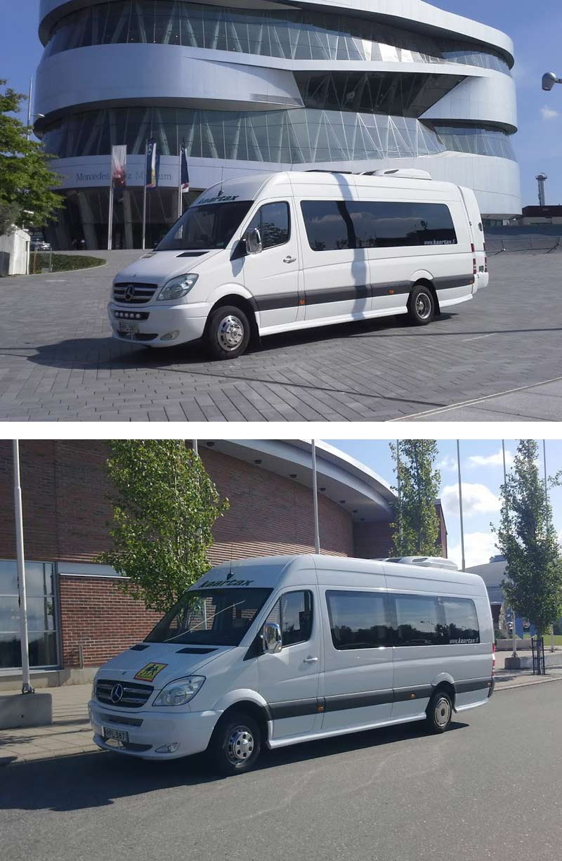 Mercedes-Benz Sprinter 516, 1+19 Tourist bus - Kaartax
