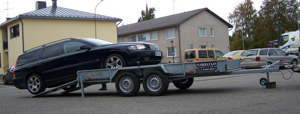 Vuokrattava traileri 2600kg | Kaartax